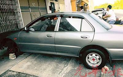 在老火较被发现的弃车经证实是在槟城报失。