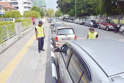 违停在车格外的传票罚款额重新调整至50令吉。