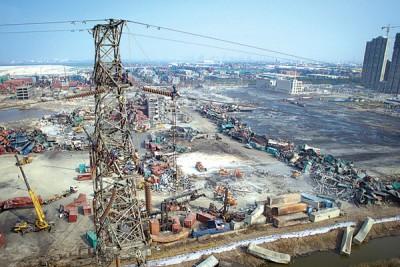 7号称正副厅级官员以天津港瑞海仓库爆炸事故中给检察院立案侦查并动用刑事强制方式。(新华社照片)