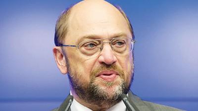 欧洲议会议长舒尔茨对个别国家做出抨击,指它们错误应对移民危机。