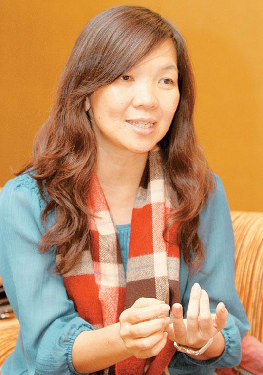 陈翠燕说,只要愿意伸出援手就能挽回生命,活着就是希望。