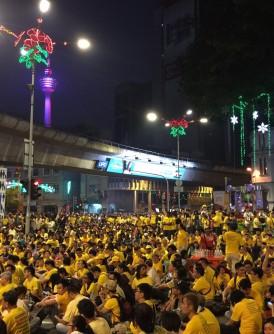净选盟2.0主席玛丽亚陈向参与集会的黄潮表示,集会者仍维持在约20万人。