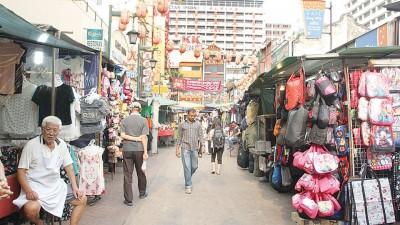 若916集会如期在茨厂街上演,茨厂街逾700档的小贩料将有90%会休业。