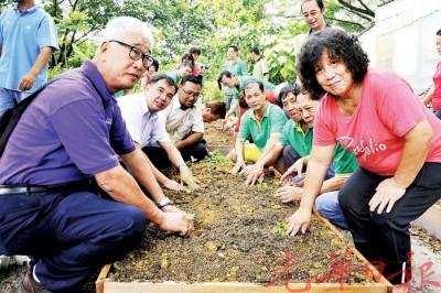 居民们踊跃响应,对社区农耕感兴趣。