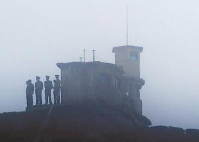 印度军队被指越界拆除一座中国的哨站。图为中印边境其中一处中国哨站。