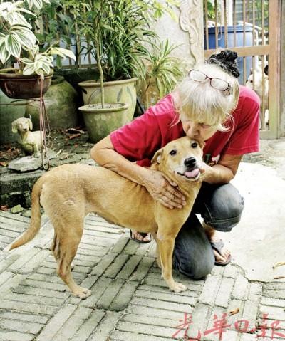 坚持生命平等的芭芭拉认为,狗只的生命应和人类一样受到重视。