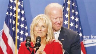 有爱妻支持,拜登大可以放心一圆总统梦。