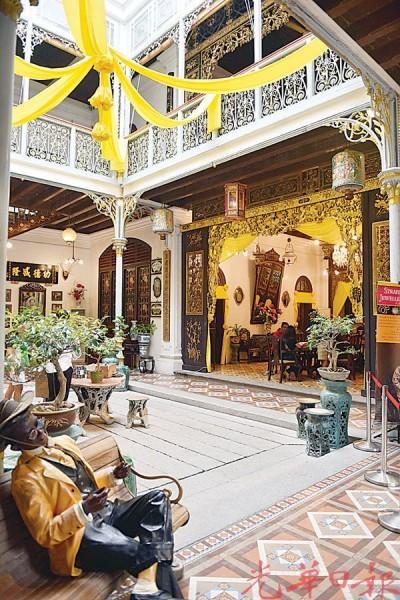 四合院建筑形象的槟城侨生博物馆。