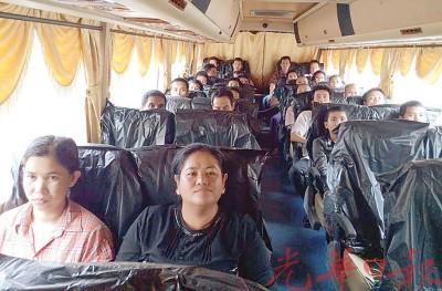 87名非法入境的外劳遭遣返回国。