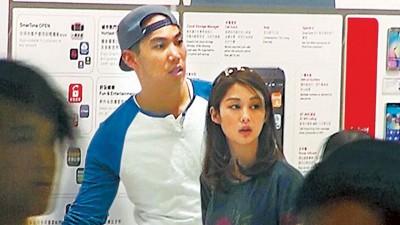 岑丽香与男友Joshua。