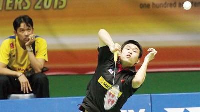 从男单转型的陈健铭如今收获首个国际赛双打决赛权,放眼连胜印尼组合拿下首冠。