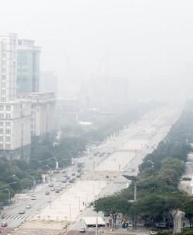 烟霾还没改善。