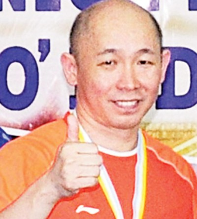 叶锦福代表古健杰/陈文宏拿可逐步为国羽结缘带来压力。