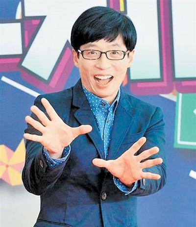 刘在锡其貌不扬成为吸引观众的利器,民众更肯定他为人低调谦虚。
