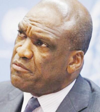 联合国大会前主席阿什。