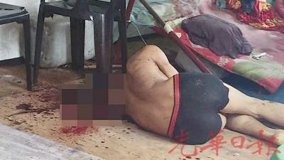 缅甸籍男子被发现卧尸在货柜箱宿舍内。