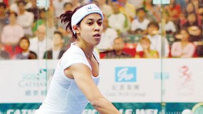大马的世界第2妮歌大卫轻取香港球手陈浩铃,在美国壁球公开赛写下开门红。