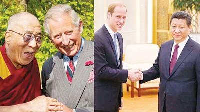 英国皇储查理斯同达赖喇嘛友好,习近平访英其间不会出席国宴。