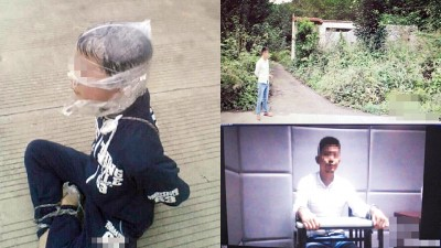 小江逃出荒屋后,被村民发现,最终安全抵达派出所。绑匪指认案发现场。绑匪目前已被刑拘。