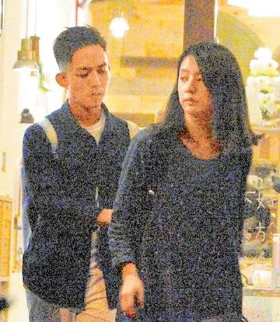 林宥嘉与女友丁文琪感情甜蜜,经常被拍到小俩口约会。