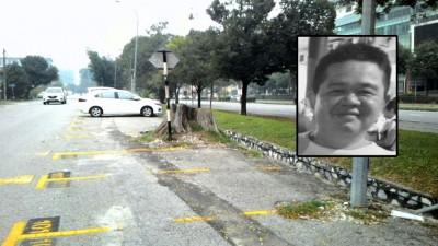 凶徒将死者连车带尸弃在SS15区的某泊车处。