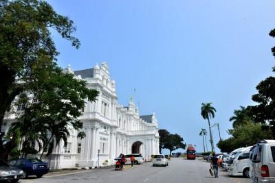 槟城于周日终看得见蓝天。