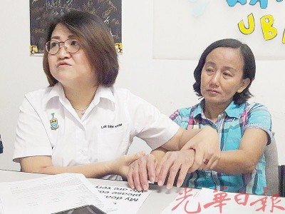 林秀琴在记者会指林明丝为了赚钱养活子女,不惜每天工作,希望林依琳回家团聚。