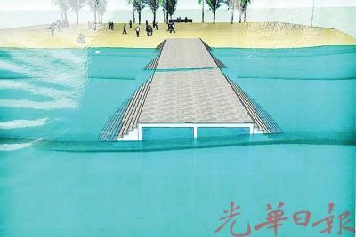 在工程中,将会建设2个长120米的河水排出口。