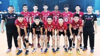 砂拉越队在全国排球公开赛首天取得2连胜。