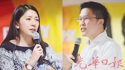 黄家和(右)稳中求胜,极可能中选总团长,杨美盈错失辩论良机,料翻牌无望。