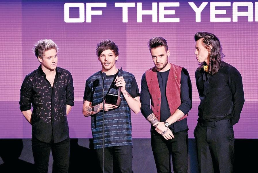 2015全美音樂獎 1世代奪年度歌手