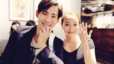 周渝民和喻虹渊10日宣告结婚,正式成为夫妻。