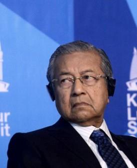 马哈迪:两线制是好事。
