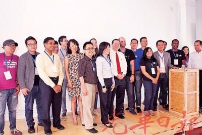 槟州首席部长林冠英主持物联网小型加速器发展闭幕。