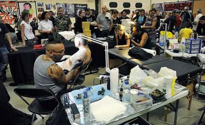 您想为慈善而纹身吗?
