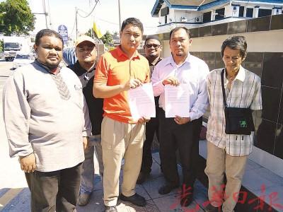 国家诚信党霹雳州青年团周四向怡保警察总部报案。