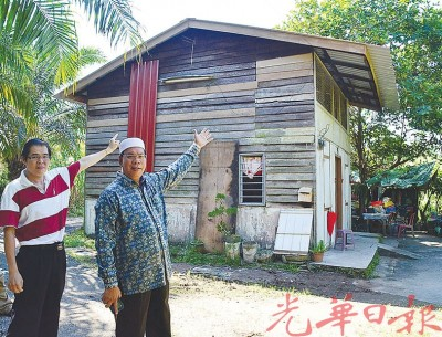 木屋常年失修恐有倒塌危机,沙烈曼拨款助居民修建家园。