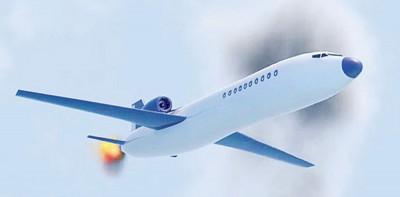 """""""高空飞机""""布火箭级引擎。贪图为画家构想图。"""