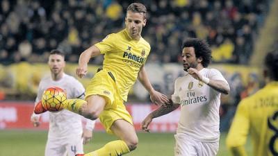 索尔达多打进绝杀球,维拉利尔以1比0击败皇家马德里。