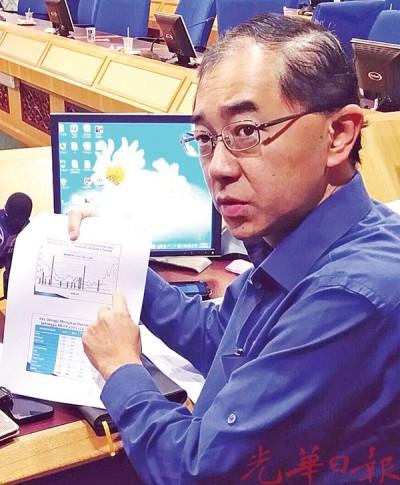 马汉顺因霹雳州骨痛热症案例减少并为控制。