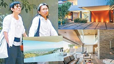陈可辛(右)房产投资有方,浅1年就会赚钱超过455万令吉。