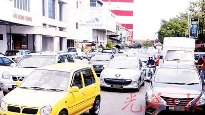 挤是就几上槟岛市区最广泛的画面。