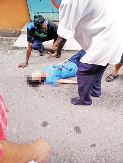 陈月瑛坠楼后,伤及头部以致神志不清,当时已被送往医院治疗。(档案照)