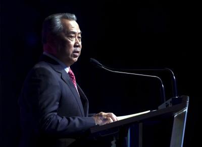 前副首相丹斯里慕尤丁。