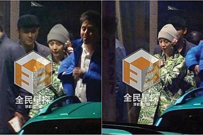 范冰冰日前被拍到与男友李晨相约吃火锅,素颜意外引起网友热议。