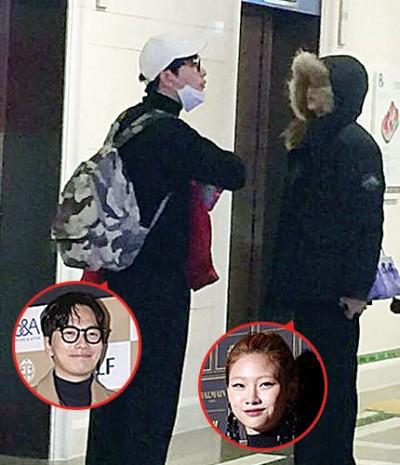 李东辉以及郑浩妍以超市约会,于群众目击。