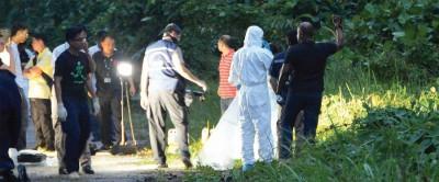 37年蔡宜志失踪数天后,为发现弃尸在林厝港军训区。