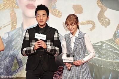 刘恺威与郑爽时隔一年再度合作新剧。