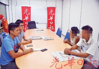 庄富江夫妇现身解释回应流浪街头的始末,他们也做好准备与养女脱离关系。