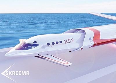 庞巴迪去年上Skreemr超音速概念客机。